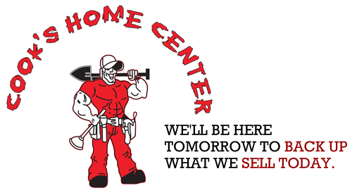 Cooks Home Center, Logo